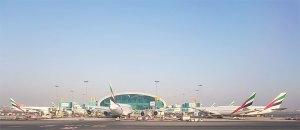 Figura 11: Frota Emirates no T3 zona B de DXB