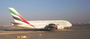 Figura 13: A380 da Emirates no Dubai