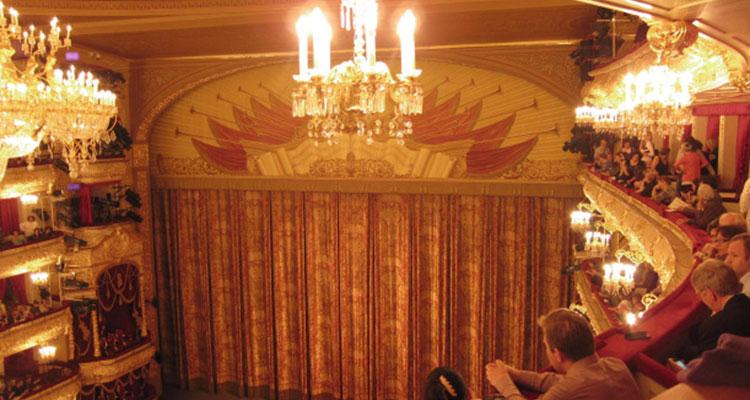 Sala Principal do Teatro Bolshoi
