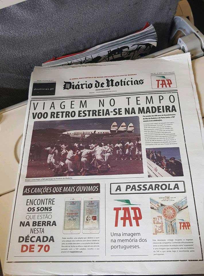 Flight Report José Luís - Diário de Notícias Retro