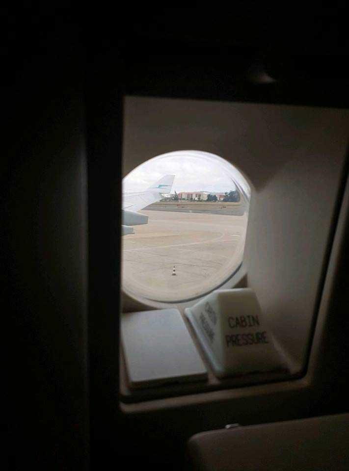 Flight Report José Luís - Foto da Janela