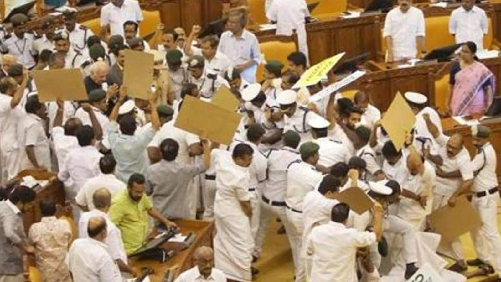 Court rejects discharge plea of minister among 6 in 2015 Kerala assembly violence case