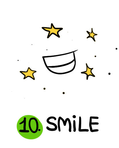 ज़्यादा मुस्कुराएं