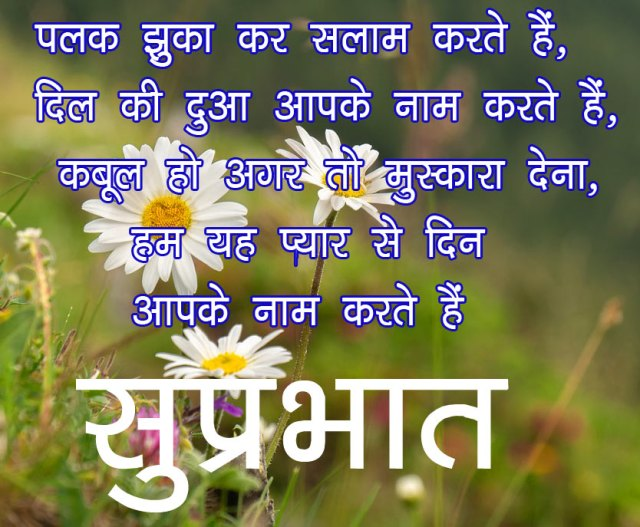 Good Morning image sms for Friends in hindi 14