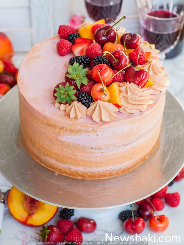 Summer Sangria Cake 4