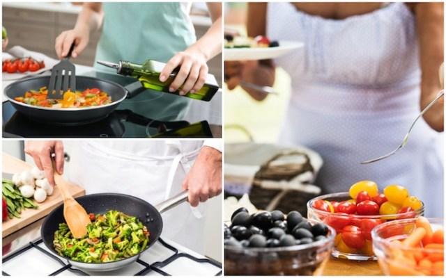नॉन स्टिक पैन में खाना पकाने से आप अधिक वजन वाले हो सकते हैं