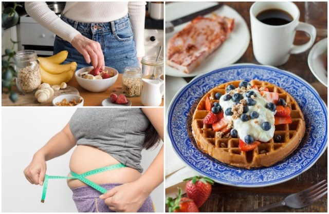 अपनी कमर के लिए सबसे खराब नाश्ता आदतें
