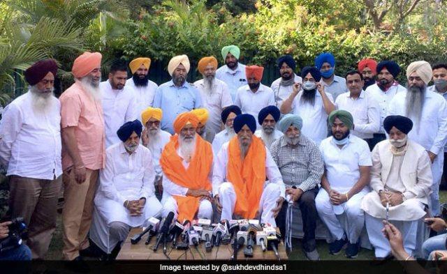सुखदेव सिंह ढींडसा, रणजीत सिंह ब्रह्मपुरा नई पार्टी शुरू करने के लिए