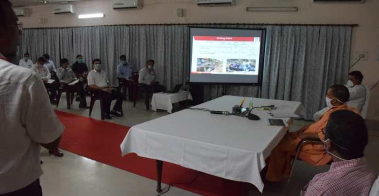Yogi inaugurates e-puja at KVT