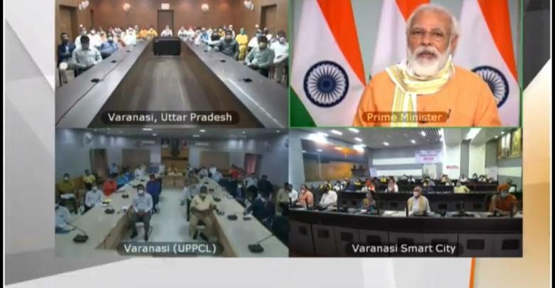 PM interacts with representatives of Varanasi based NGOs