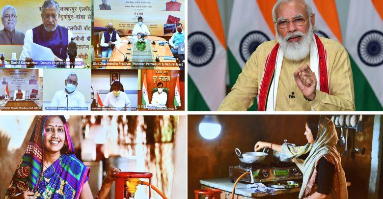 PM dedicates key-projects in Bihar