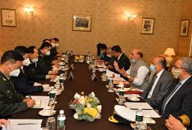 Rajnath Singh meets Chinese defence minister