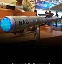 User Trial of NAG Missile carried out