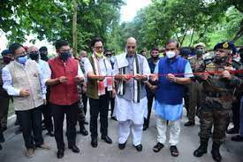 Defence Minister dedicates to the nation 12 roads, built by BRO, in Northern & Eastern border areas