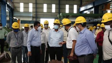 High-level delegation of Mozambique Railways visited BLW