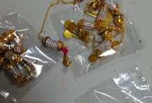 Team Customs seizes Gold at LBSI-Airport