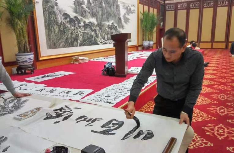Wencai Li: Founder of Modern Coke ink Painting in China