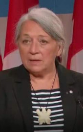 PM Justin: I thank Her Excellency the Right Honourable Mary Simon for accepting..! JW COMMENT: RIGHT STEP TOWARD RECONCILIATION