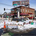 Man dies when gunfire erupts near 'George Floyd Square' in Minneapolis as Chauvin trial looms