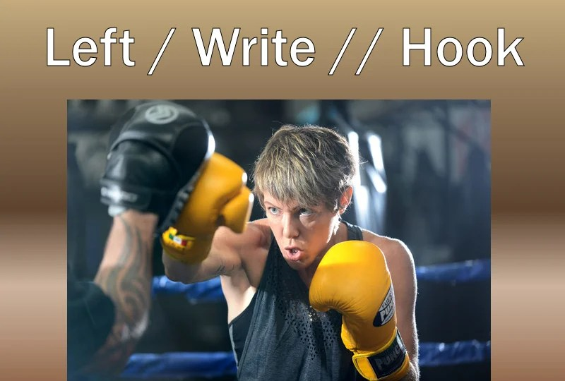 Boxing and writing book cover