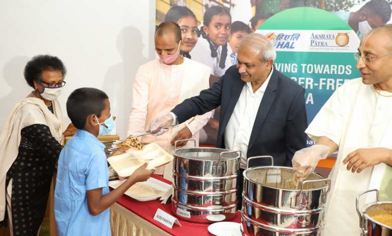 Akshaya Patra's 58th Kitchen sponsored by Hindustan Aeronautics Limited (HAL) Inaugurated in Jalahalli Bengaluru