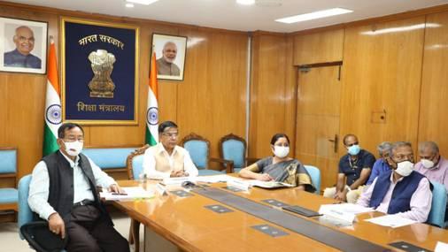 Shri Subhas Sarkar addresses the G20 Research Ministers' Meeting vitually