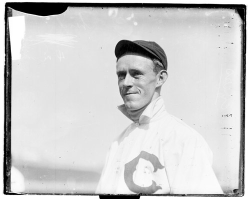 Johnny Evers Chicago Cubs 1907