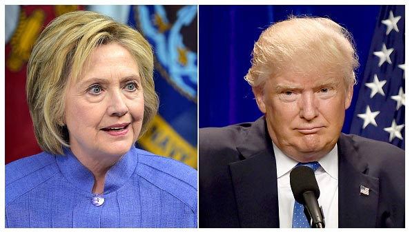 New poll shows Clinton and Trump in dead heat before first debate