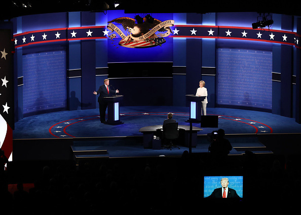 Polls declare Clinton the winner of the third presidential debate
