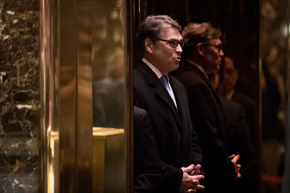 Rick Perry frontrunner for Trump's Energy Secretary