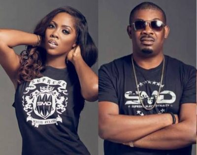 DSS reportedly quizzes Don Jazzy, Tiwa Savage over alleged political comments against Buhari