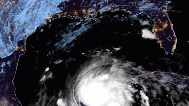 Tropical Storm Zeta makes its way toward the US coast after slamming into Mexico as a hurricane