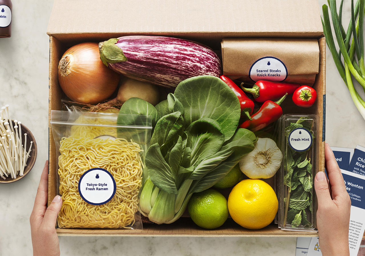 Meal prep kit startup Blue Apron Goes Public Raising $300 Million