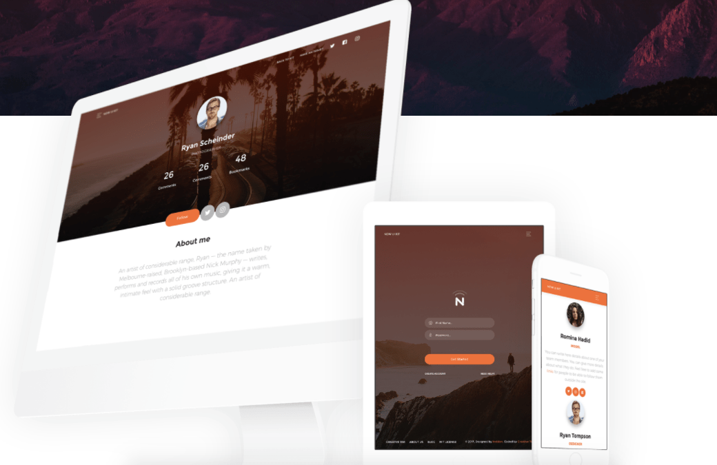 Now UI Kit is a responsive user interface design tool.