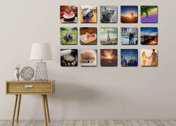 Printage is a website where users can order custom canvas print by uploading and editing their own pictures.