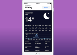 Weather Hippie is an iPhone app that provides timely weather alerts, allowing people to stay ahead of noteworthy weather conditions in their areas.