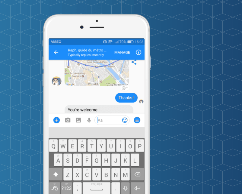 Viseo is an open source tool that allows developers to easily create chatbots and vocal apps in just a few clicks