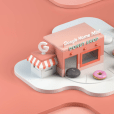 """To promote its newest virtual assistant product, Google Home Mini, Google is opening 11 pop-up """"donut shops"""" around the country where people can take home either a brand-new Google Home Mini or two delicious donuts."""