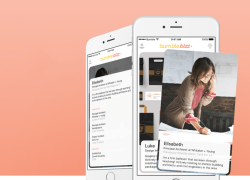Bumble Bizz is a new iPhone app created by the dating app company Bumble.
