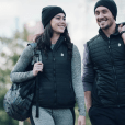 8K Flexwarm is a collection of stylish heated apparel that allows the wearer to control the temperature from a smartphone app.