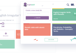 Fluany is a Chrome extension that allows users to memorize and study anything while surfing the Internet.