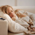 """The Pzizz app is a """"sleep and power nap system"""" that uses rotating, specially designed music, voiceovers, and sound effects to help users sleep better and wake up refreshed."""
