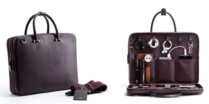 The Bond Travel Briefcase is a travel-friendly bag for working professionals.