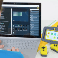 Pip is a handheld device based on the Raspberry Pi Compute Module that allows users to code, experiment with electronics, and play retro games.
