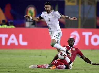 Riyad Mahrez stars as Algeria ease past Kenya