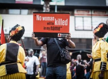 South Africa struggles with surge of gender-based violence
