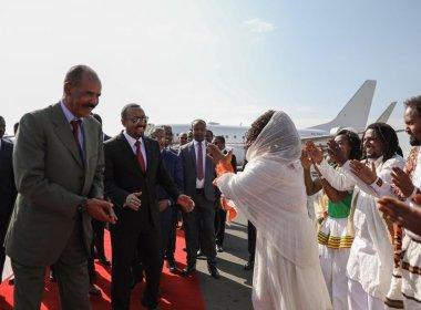 Ethiopia's Abiy hosts Eritrea's Isaias in historic post-Nobel meeting