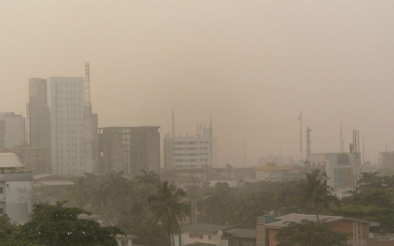 Nigeria's meteorology body warns of a dusty and hazy Monday