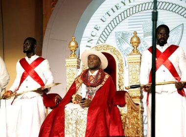 PHOTOS: The Coronation of the 21st Olu of Warri, Ogiame Atuwatse III