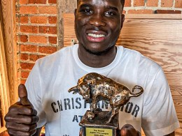 Nigeria's Onuachu Wins Player of The Year in Belgium